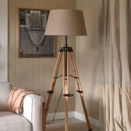 RM Wooden Tripod Floor Lamp