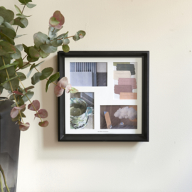 West End Square Photo Frame 4x10x15