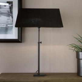 Rectangular Lampshade black 15x60