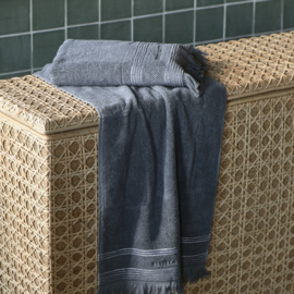 Serene Towel anthracite 100x50