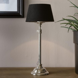 Linen Lampshade all black 15x20