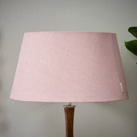 Loveable Linen Lampshade pink 35x45
