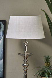 Loveable Linen Lampshade sand 35x45