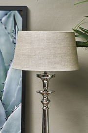 Loveable Linen Lampsh natural 25x30