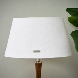 Chic Lampshade wh/gld 28x38