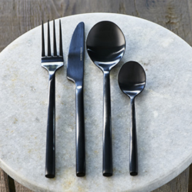 RM Loft Cutlery 4 pcs black