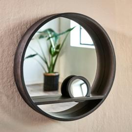 Round Mirror inclusief Hand Mirror