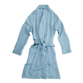 Badjas VT Wonen Cuddle Bathrobe Blue S/M