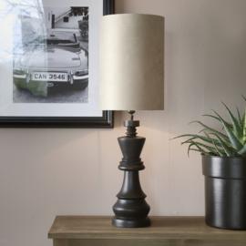 High Cylinder Lamp Shade sand 28x40