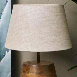 Linen Lampshade natural 28x38