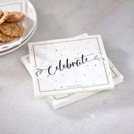 Paper Napkin Celebrate