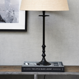 L'Hotel Lamp Base antique black