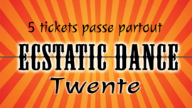 Ecstatic Dance Twente: 5 ticket Strippenkaart