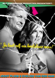 Za 28 maart 2020: Combi Diner & Theatervoorstelling: Je bent zelf een kwetsbaar mens: