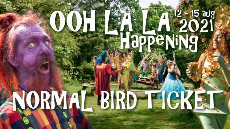 Ooh La La Happening - Normal Bird Ticket UITVERKOCHT