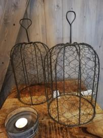 Metalen draadstolp Cloche