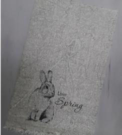Shabby doek spring