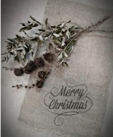 Shabby doek Merry Christmas