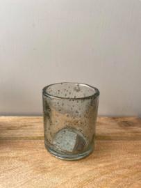 Theelichtglas Brynxz (Small) - Ø7x8cm