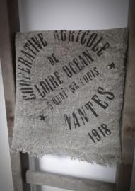 Shabby doek Nantes groot
