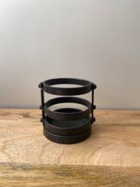 Ijzeren theelichthouder Brynxz (Small) - Ø9x10cm