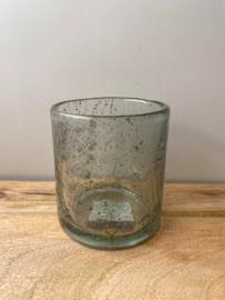 Theelichtglas Brynxz (Large) -  Ø10x11cm