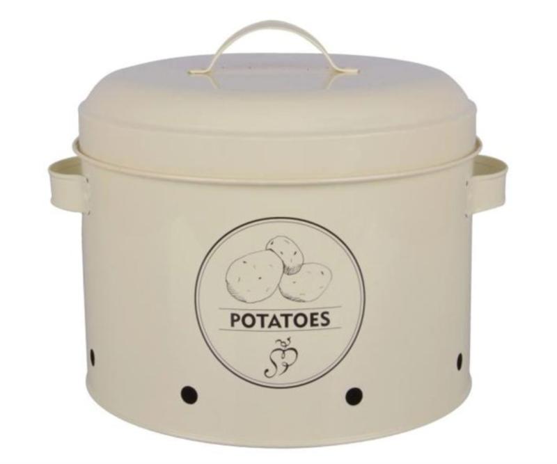 Voorraadblik voor aardappelen - 6,3 liter