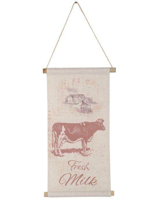 Wanddoek Fresh milk