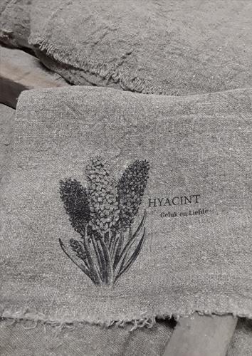 Shabby doek Hyacint smal