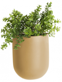 Wall Plant Pot Oval | Sand Brown
