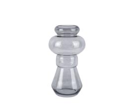 Vase Morgana Glass Medium | DARK GREY