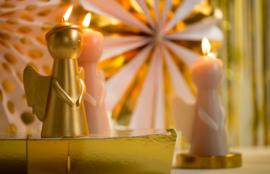 Sculpture Candle Engel Skin