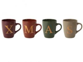 XMAS Mokken set van 4