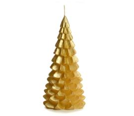 Kaars Kerstboom Goud 20cm