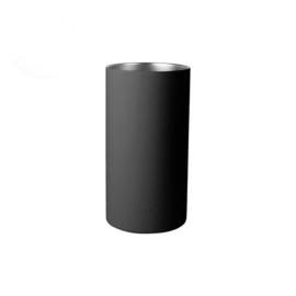 Wijnkoeler mat zwart