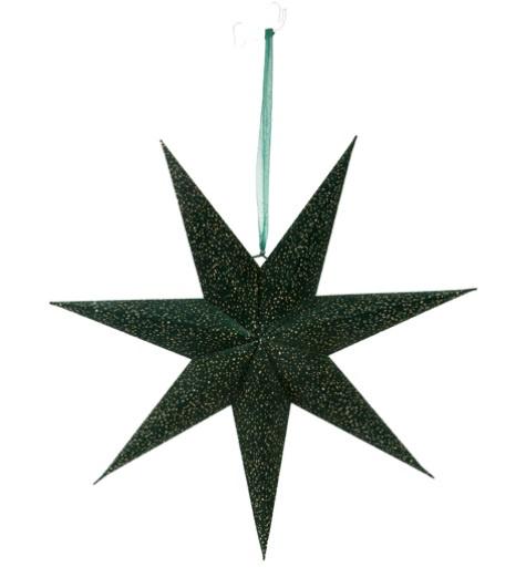 Deco Star L Forest/Gold Velvet