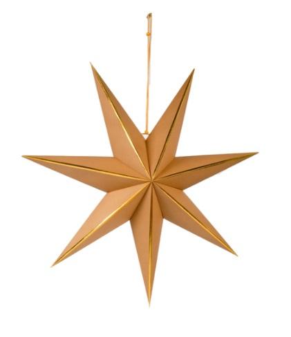 Deco Star L Nude/Gold