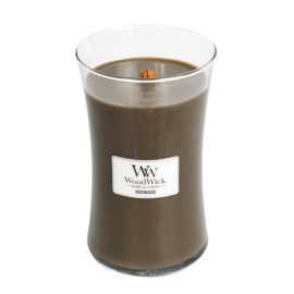 oudwood Large Candle WoodWick