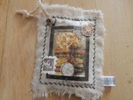 stoer geurzakje linnen 8x10 cm magnolia geur 2