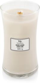 Woodwick Smoked Jasmine Large Candle