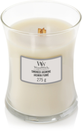 Smoked jasmin medium woodwick