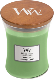 Hemp ivy medium woodwick 60 branduren
