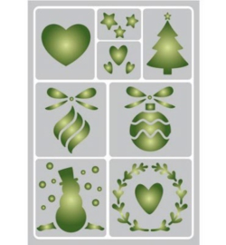 Sjabloon Pronty kerstmis