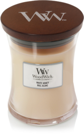 White honey mini woodwick 20 branduren