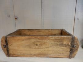 houten bak 30x14x10h