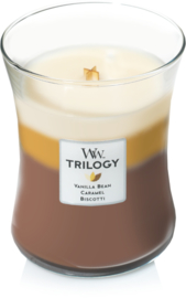 Woodwick Trilogy Café Sweets Medium Candle