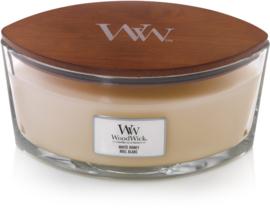 White honey ellipse woodwick