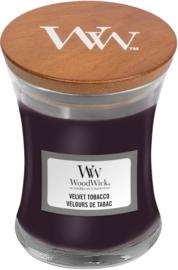 Woodwick Velvet Tobacco Mini Candle