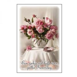 DGVN(116)Zakje vol liefs voor jullie trouwdag