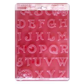 Mal letters voor gips en klei